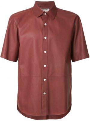 Рубашка с коротким рукавом Cerruti 1881. Цвет: коричневый