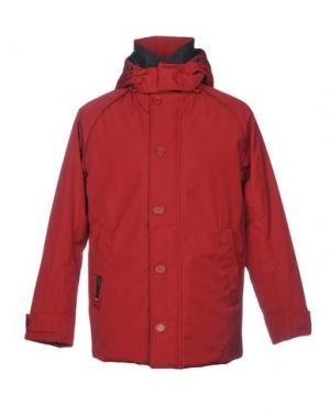 Куртка HENRI LLOYD. Цвет: красно-коричневый