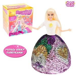 Кукла-модель с пенопластовой юбкой Happy Valley