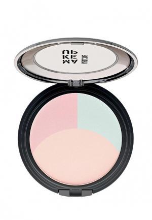 Пудра Make Up Factory Корректирующая цвет лица Ultrabalance Color Correcting Powder т.01 бежевый,терракотовый,зеленый. Цвет: разноцветный
