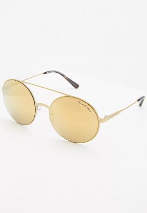 Очки солнцезащитные Michael Kors MK1027 11937P. Цвет: золотой
