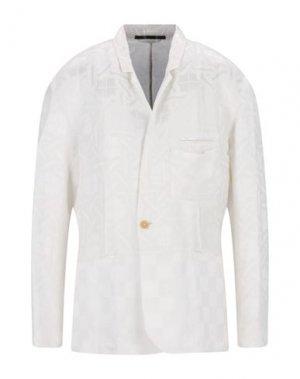 Пиджак HAIDER ACKERMANN. Цвет: белый