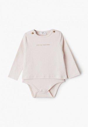 Боди Mango Kids - PUPPY. Цвет: розовый