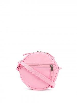 Round cross body bag Eastpak. Цвет: розовый