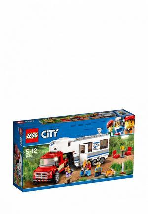 Конструктор City LEGO Дом на колесах 60182. Цвет: разноцветный