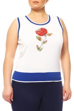 Пуловер Escada. Цвет: белый, синий, красный