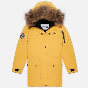 Женская куртка парка Polaris Arctic Explorer. Цвет: жёлтый