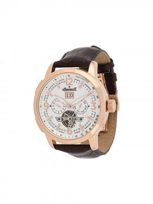 Наручные часы 1892 Regent 47 мм Ingersoll Watches. Цвет: коричневый