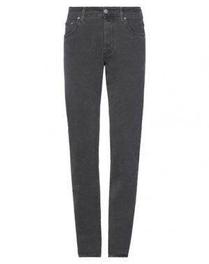 Повседневные брюки JACOB COHЁN. Цвет: свинцово-серый