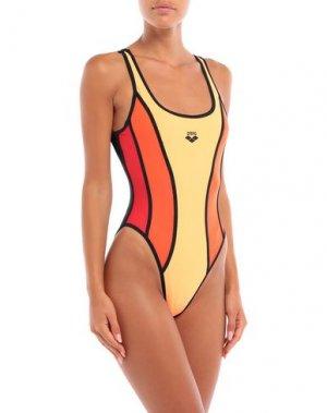 Спортивные купальники и плавки ARENA. Цвет: оранжевый