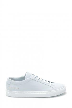 Белые кожаные кеды Original Achilles Low Common Projects. Цвет: белый