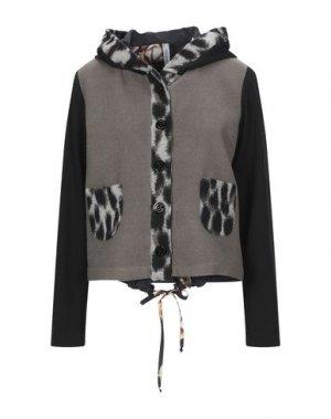 Куртка PIANURASTUDIO. Цвет: серый