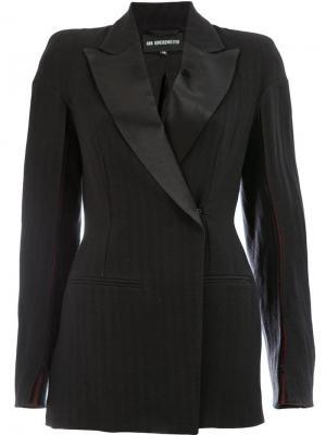 Structured blazer Ann Demeulemeester. Цвет: черный