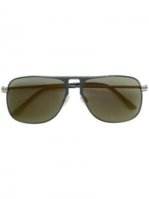 Солнцезащитные очки-авиаторы Dans Jimmy Choo Eyewear. Цвет: черный