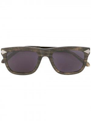 Солнцезащитные очки Voltaire Karen Walker. Цвет: коричневый