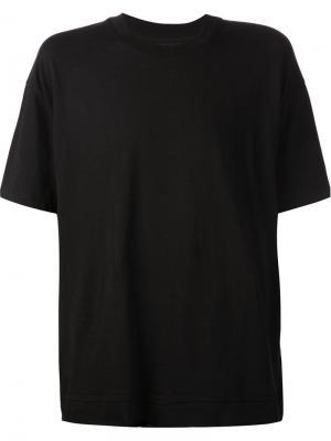 Футболки и жилеты John Elliott + Co.. Цвет: чёрный