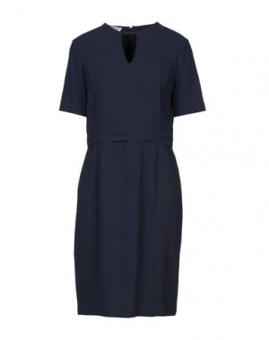 Платье до колена CARACTÈRE. Цвет: темно-синий