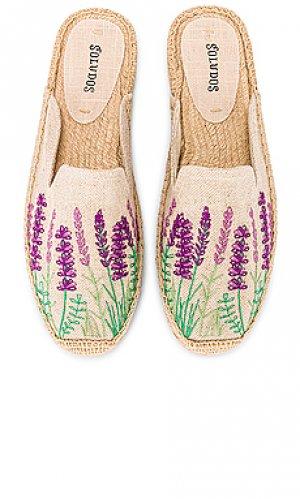 Балетки lavender fields Soludos. Цвет: цвет загара