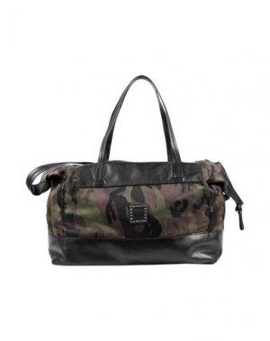 Дорожная сумка CAMPOMAGGI. Цвет: черный