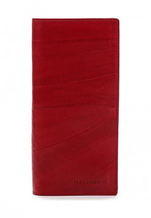 Кошелек Alexander Tsiselsky. Цвет: красный