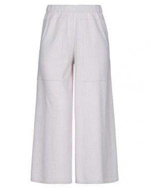 Повседневные брюки ANNECLAIRE. Цвет: светло-серый