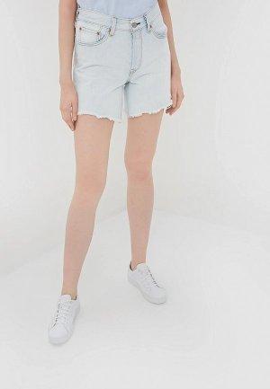 Шорты джинсовые Levis® Levi's® 501® Long. Цвет: голубой