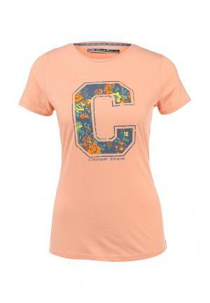 Футболка Colorado Jeans. Цвет: розовый