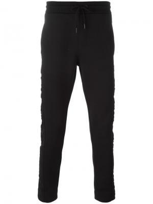 Классические спортивные брюки Ck Jeans. Цвет: чёрный