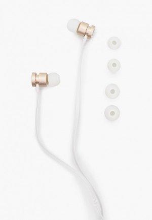 Наушники Guess Wire (проводные) White/Gold. Цвет: разноцветный