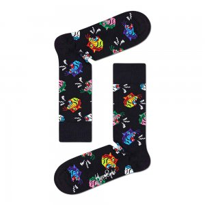 Tiger Sock Happy Socks. Цвет: черный