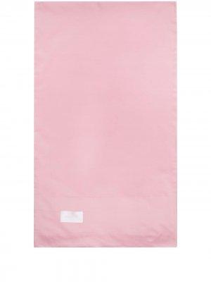 Наволочка Pure с нашивкой-логотипом Magniberg. Цвет: розовый