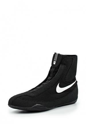 Боксерки Nike OLY MID. Цвет: черный