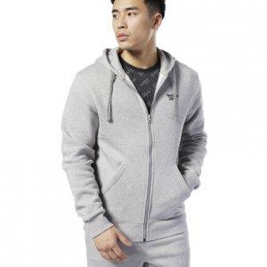 Худи Classics Fleece Reebok. Цвет: medium grey heather