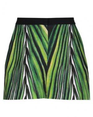 Повседневные шорты ELIE SAAB. Цвет: зеленый