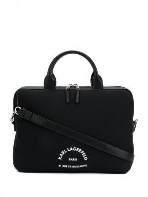 Чехол для ноутбука Rue St Guillaume Karl Lagerfeld. Цвет: черный