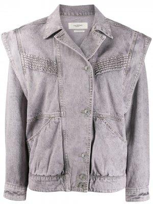 Джинсовая куртка Harmon Isabel Marant Étoile. Цвет: серый