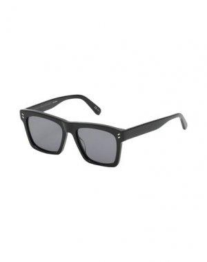 Солнечные очки STELLA McCARTNEY MEN. Цвет: черный