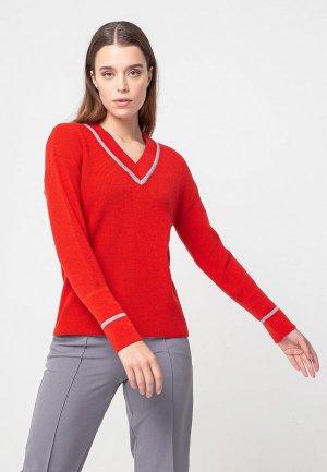 Пуловер BGN. Цвет: красный