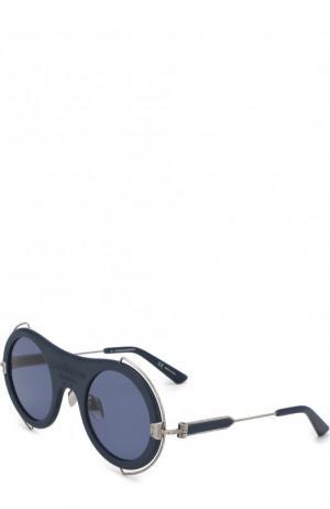 Солнцезащитные очки CALVIN KLEIN 205W39NYC. Цвет: темно-синий