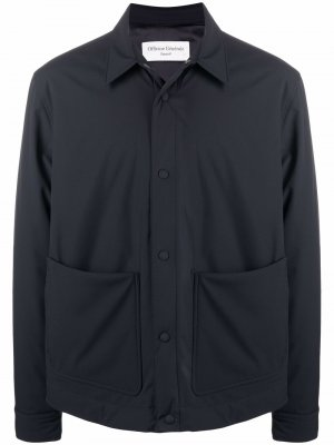 Куртка-рубашка на пуговицах Officine Generale. Цвет: синий