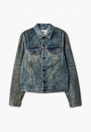 Куртка джинсовая Cheap Monday. Цвет: синий