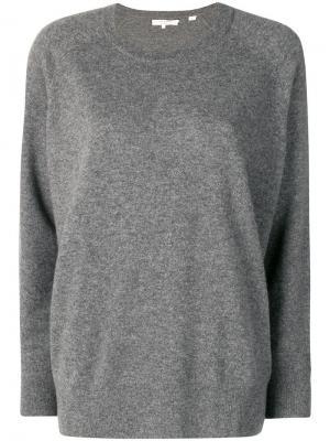 Однотонный свитер Chinti and Parker. Цвет: серый