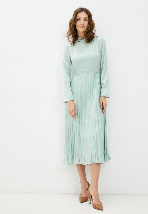 Платье Cavo. Цвет: бирюзовый