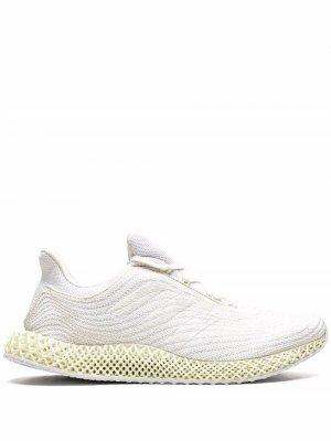 4D Parley sneakers adidas. Цвет: белый
