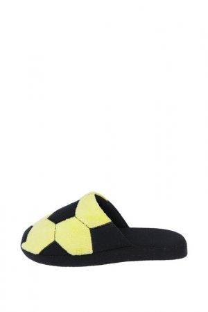 Тапочки PlayToday. Цвет: жёлтый, черный
