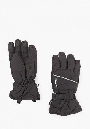Перчатки горнолыжные Gusti. Цвет: черный