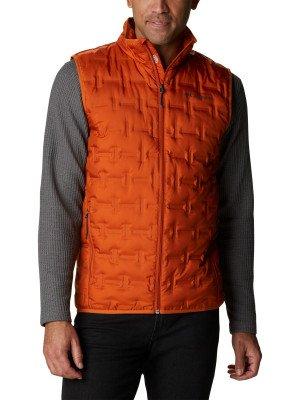 Жилет пуховый мужской Delta Ridge™, размер 54 Columbia. Цвет: оранжевый