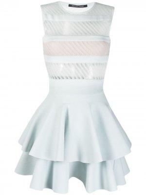 Платье мини Antonino Valenti. Цвет: синий