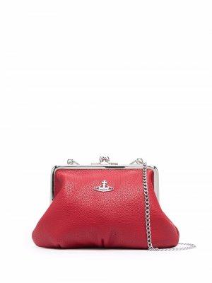 Сумка-тоут размера мини с логотипом Vivienne Westwood. Цвет: красный