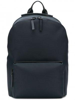 Рюкзак с застежкой на молнию сверху Troubadour. Цвет: синий